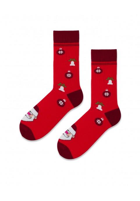 Skarpetki Czerwone Mikołaje